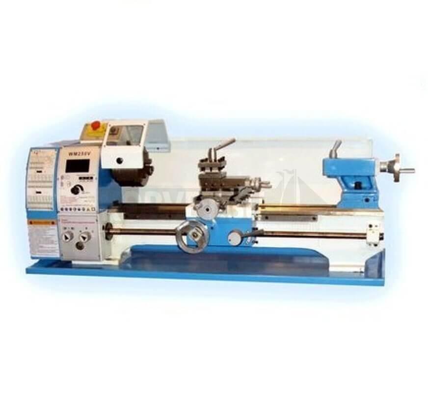 Настольный токарный станок для выполнения точения наружных и внутренних, прямолинейных и конусных поверхностей